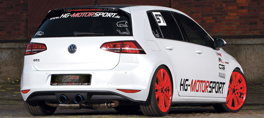 HG-Motorsport Volkswagen Golf GTI Rear View