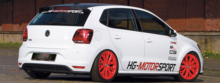 HG-Motorsport Volkswagen Polo GTI  Rear View