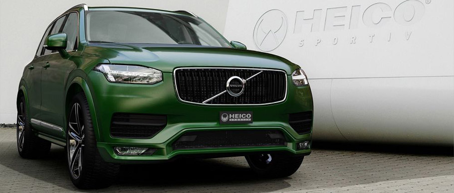Heico Sportiv Volvo XC90 Front View
