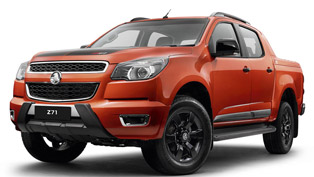 Holden Colorado Z71 Comes With a Promise to Be the Top Model For The Colorado Lineup
