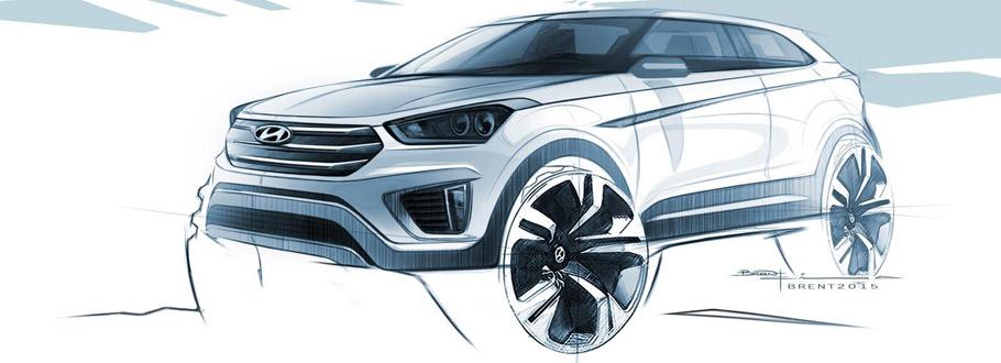 Hyundai Creta Sktetch - exterior
