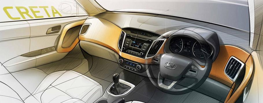 Hyundai Creta Sktetch - interior