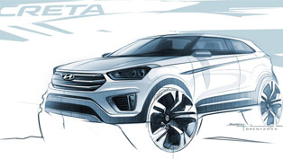 hyundai creta teased with first official sketches