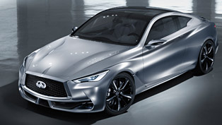 infiniti will show some style and design from the future with the three concept vehicles at 2015 gfs