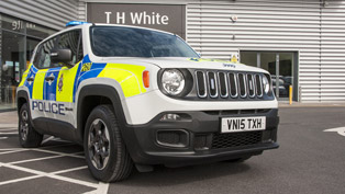 Jeep Renegade is Ready to Serve the Police Force