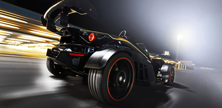 2015 KTM X-Bow GT Dubai-Gold-Edition by Wimmer Rennsporttechnik  Rear View