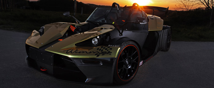 2015 KTM X-Bow GT Dubai-Gold-Edition by Wimmer Rennsporttechnik Front View