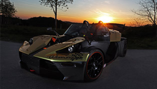 KTM X-Bow GT Dubai-Gold-Edition Revealed by Wimmer RST