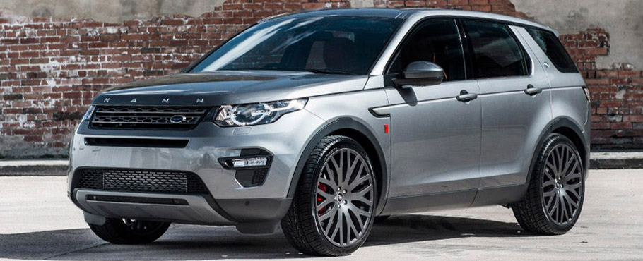 Kahn Land Rover Discovery Sport Ground Effect Edition Side View