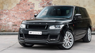 range rover le signature edition gets kahn treatment