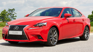 lexus is 200t is the third model to include the brand's latest engine