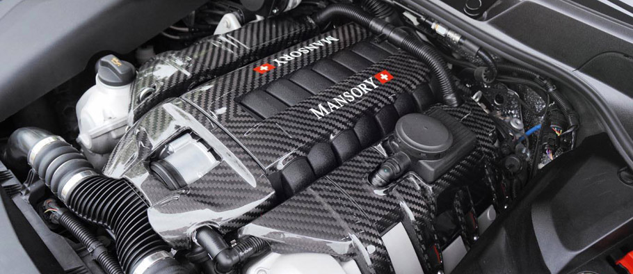 MANSORY Porsche Cayenne Turbo S Engine