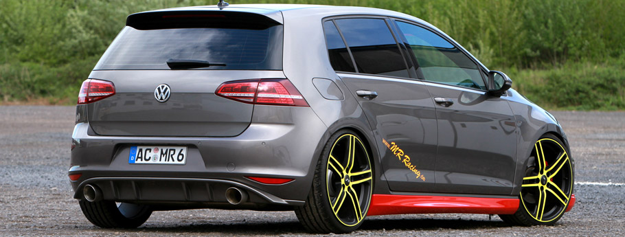 MR Racing Volkswagen Golf  Rear View