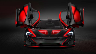 look at this devilish and unique mclaren p1 created by mso