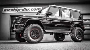 Mcchip-dkr Mercedes-Benz G 63 AMG is Called Project MC-800