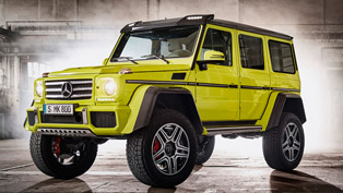 Mercedes-Benz G 500 4x42 Prepares for Mass Production!