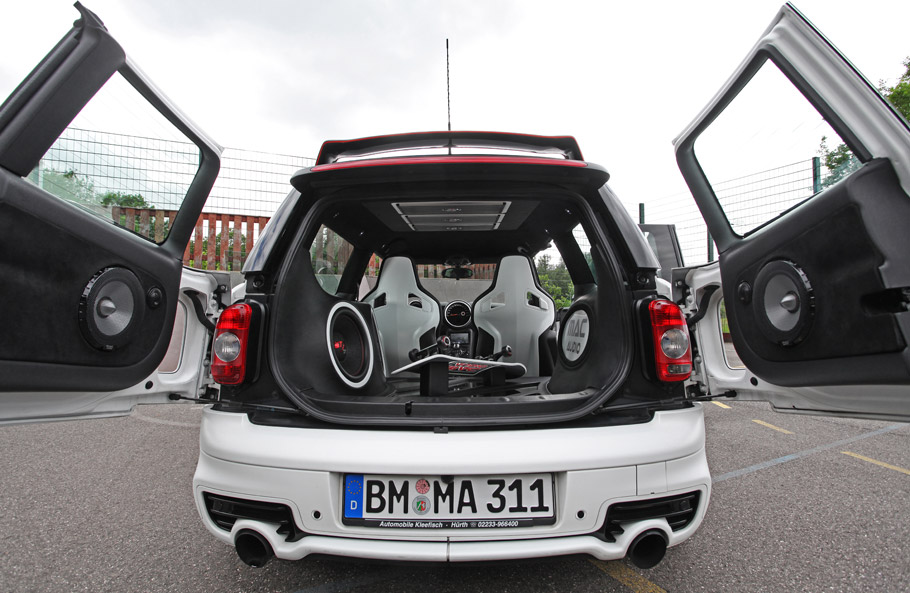 Mini Clubman S And Mac Audio System Musical Fairytale Or