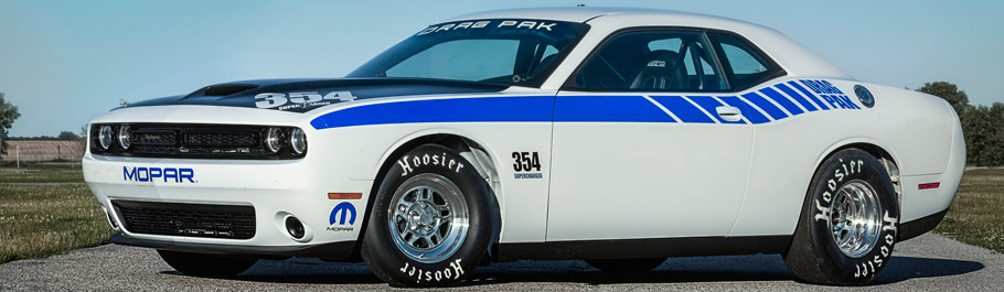 Mopar Dodge Challenger Drag Pak 354 Supercharged
