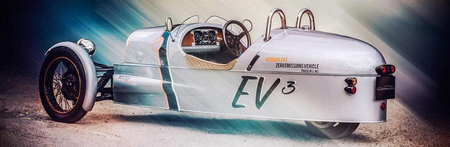 Morgan EV3 Concept Side View