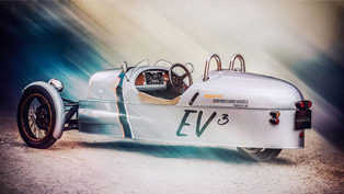 Morgan EV3 Concept is an Electric 3 Wheeler Debuting at Goodwood
