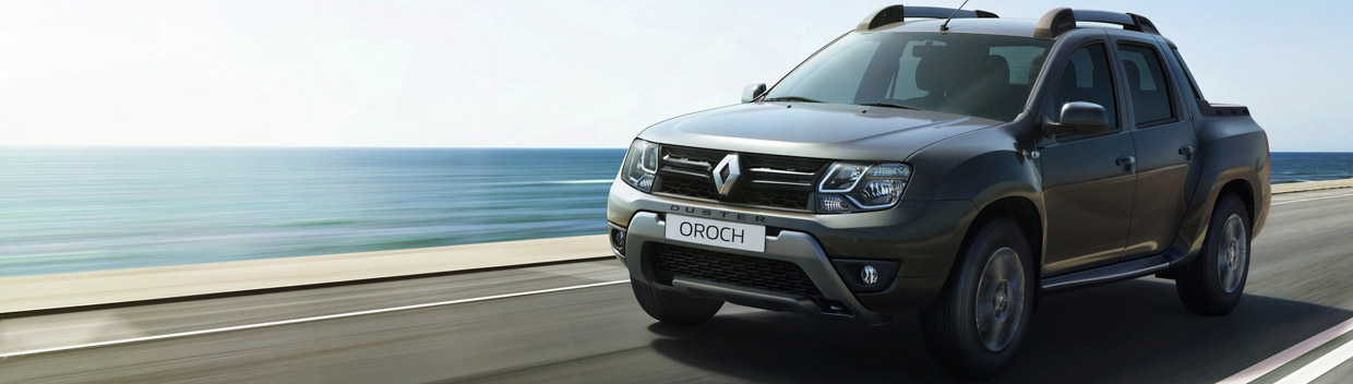 Renault Duster Oroch Pick-Up Side View