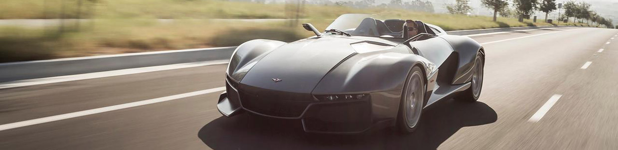 Rezvani Motors Beast Supercar Front View