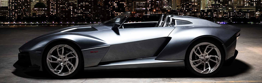 Rezvani Motors Beast Supercar Side View
