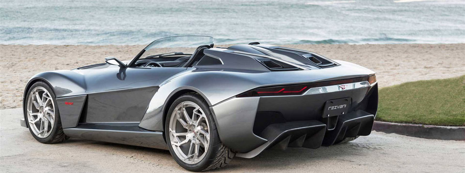 Rezvani Motors Beast Supercar Rear View
