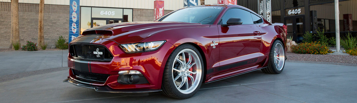 2015 Shelby Super Snake Front and Side View