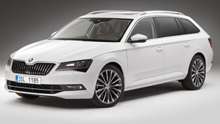 ŠKODA Has Finally Granted Customers and Fans With Details About 2015 Superb Estate Model