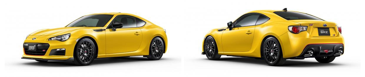 Subaru BRZ tS Front and Rear