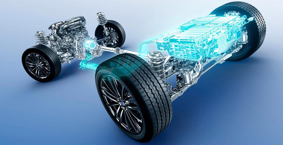 2015 Subaru Impreza Sport Hybrid Drivetrain