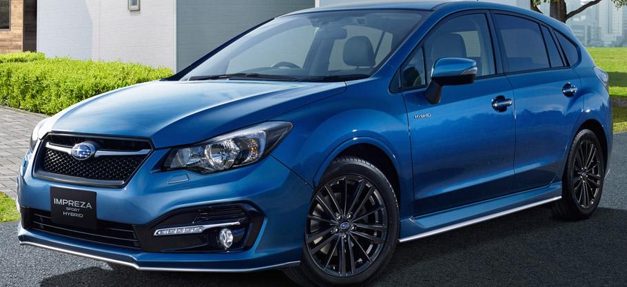 2015 Subaru Impreza Sport Hybrid  Side View