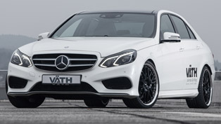 more powerful mercedes s500 but more efficient, is it possible?