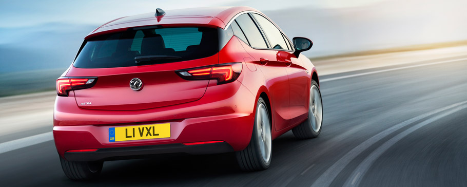 2015 Vauxhall Astra Back