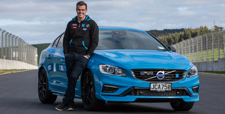 Volvo S60 and V60 Polestar Scott McLaughlin Editions Side View