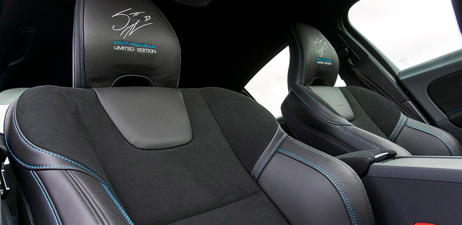 Volvo S60 and V60 Polestar Scott McLaughlin Editions Interior