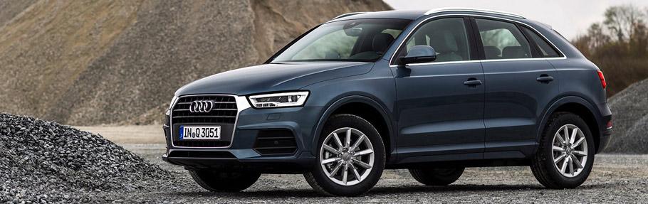 2016 Audi Q3 Side View