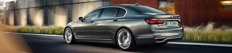 2016 BMW 7 Series Rear End
