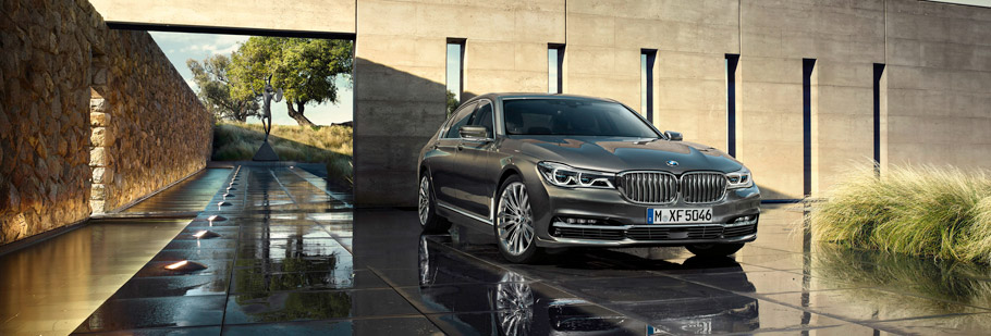 2016 BMW 7 Series Exterior - Front End