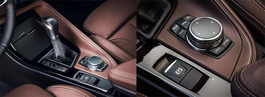 2016 BMW X1 Interior console