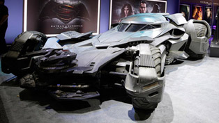 the latest batmobile made debut at licensing expo in las vegas!