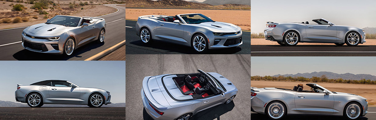 2016 Chevy Camaro Convertible Leak Images