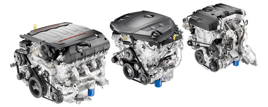 2016 Chevy Camaro Engines