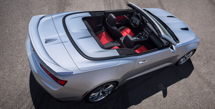 2016 Chevrolet Camaro Convertible From Above