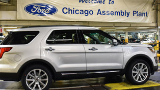 2016 Ford Explorer to be Built in Chicago Assembly Plant