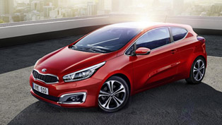 2016 Kia cee'd Facelift Debuts with Minor Styling Updates and New Engine