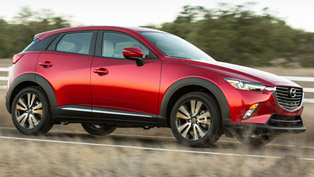 2016 Mazda CX-3 Is Rated As One of the Most Economic Crossovers for 2015 and 2016