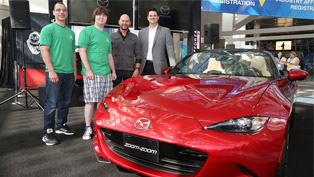Forza Horizon 2 Surprises Winners With All-New 2016 Mazda Miata MX-5