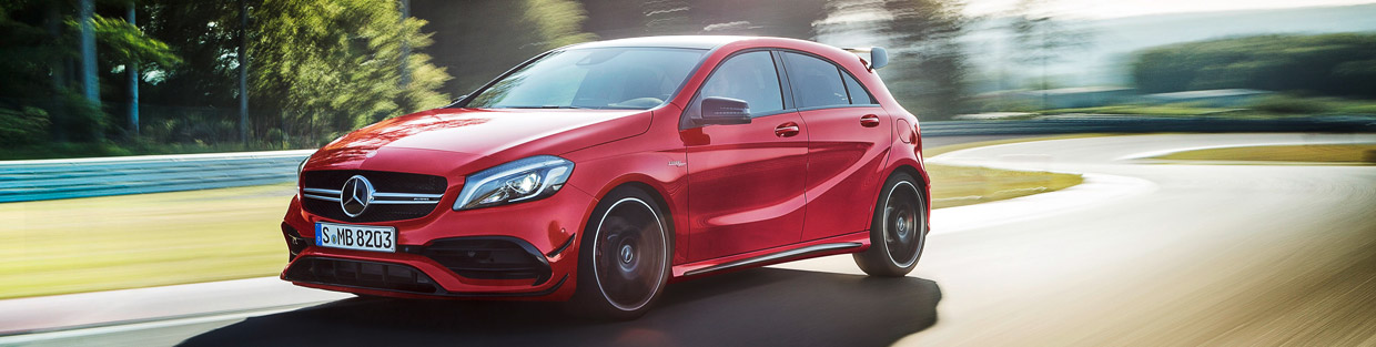 Mercedes-Benz A-Class Facelift Side View